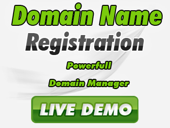Low-cost domain name registration service providers